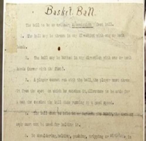 Publicación del primer reglamento que constaba de 13 artículos