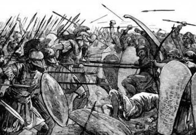 Derrota del imperio Persa