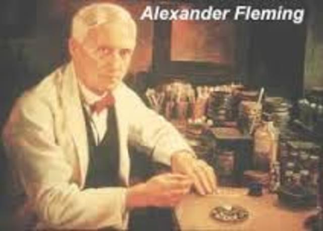 Descubrimiento de la penicilina