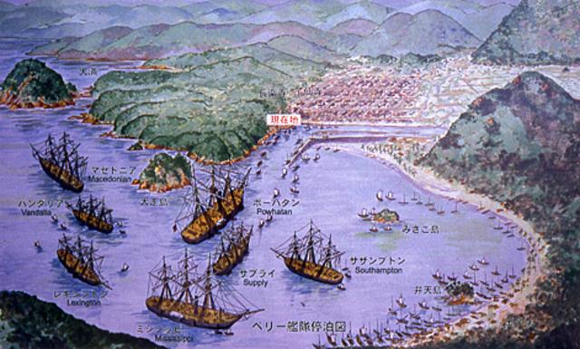Apertura de Japón al comercio mundial