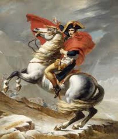 Napoleón y el  golpe de estado