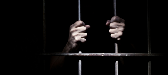 Douglass goes to prison