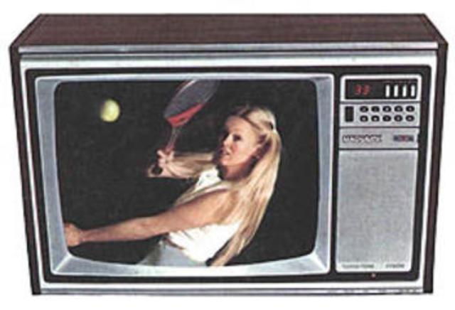 Televisor en color