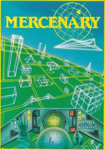 first open world game created: mercenary
