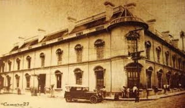 Funcionamiento del primer Banco Internacional de El Salvador