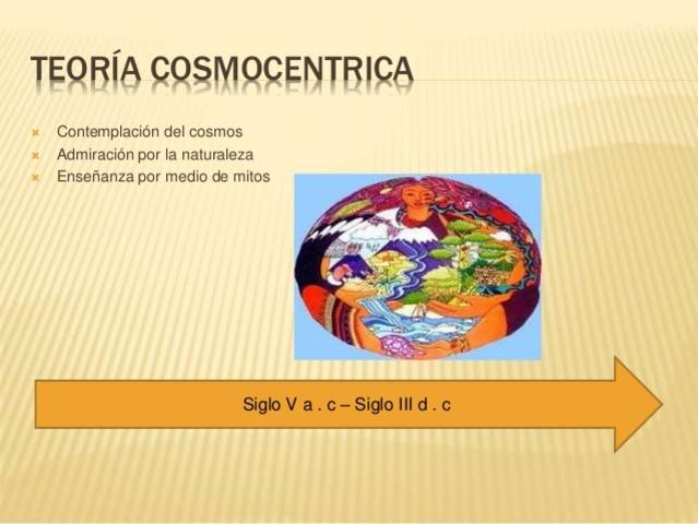 TEORIA COSMOCENTRICA
