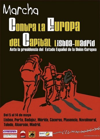 La Campaña contra la Europa del Capital y la Guerra