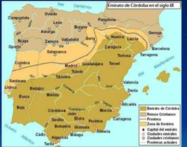 Ocupación de más territorios por los musulmanes