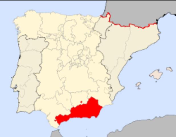 Fin del Reino de granada en 1492