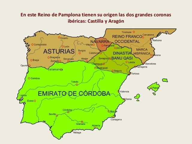 REINO DE PAMPLONA: 830