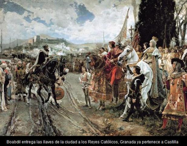 FIN DEL CALIFATO EN 1492