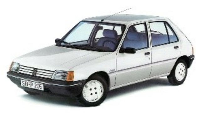 PEUGEOUT 205