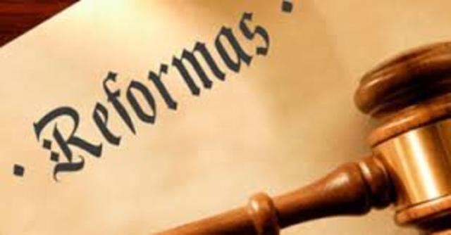 Reforma en la ley