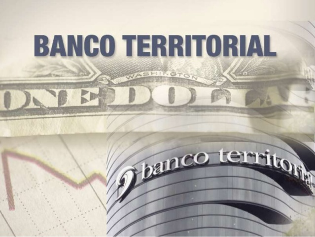 Banco Crédito Territorial.