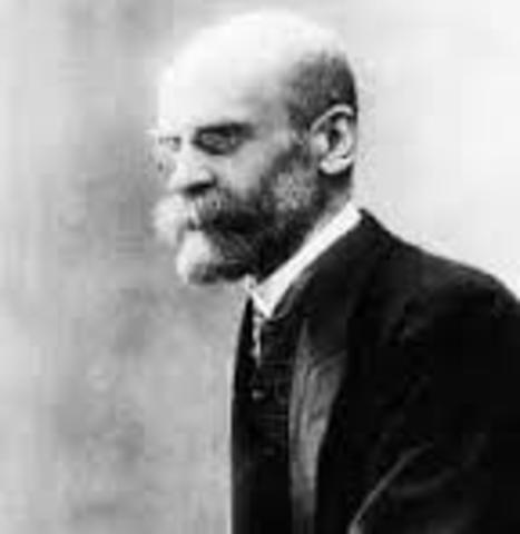 Emile Durkheim, 1893, The Division of Labor In Society