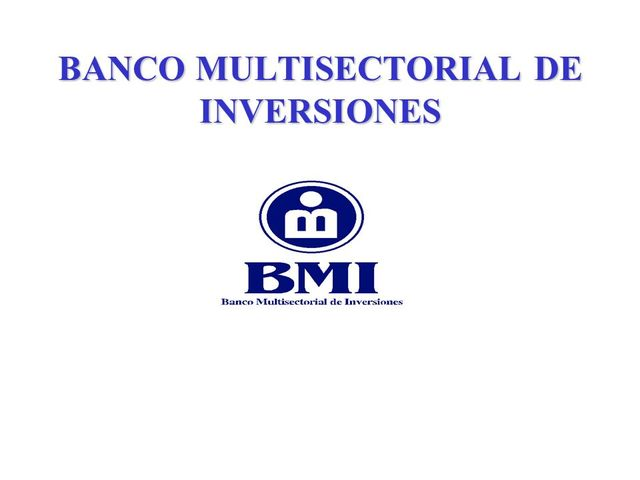 Banco Multisectorial