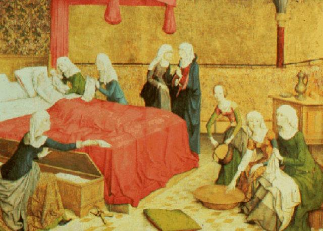 Etapa Vocacional  de la Enfermería (Cristianismo)