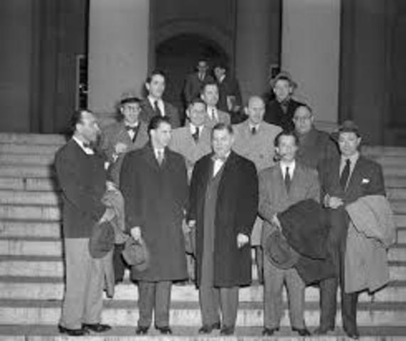 HUAC investigates Hollywood for Potential Communistic Infiltrators