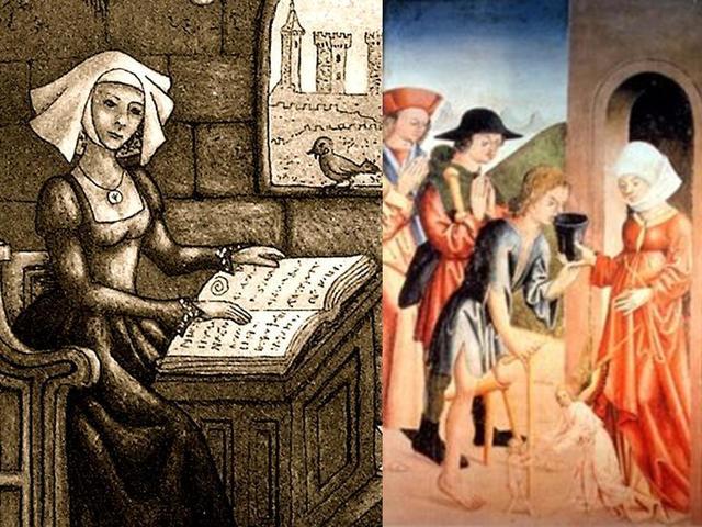 Etapa vocacional  de la Enfermería (Baja Edad Media)