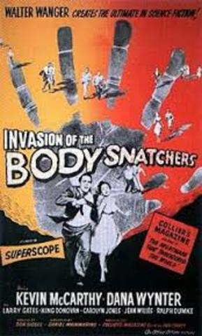 Invasion of the Body Snatchers Released in Theaters