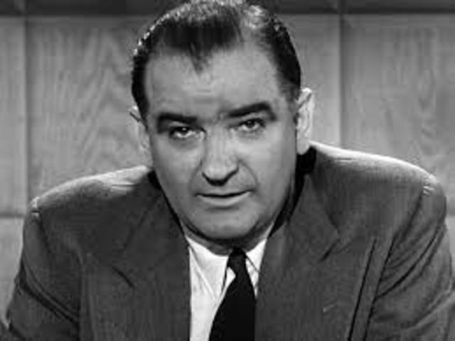 Joseph McCarthy Claims to Have List of Targets