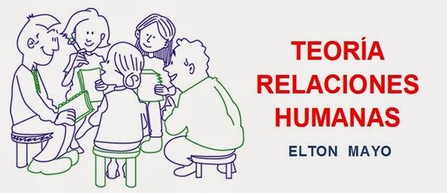 Aparición de la teoría de las relaciones humanas