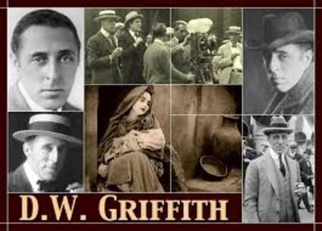 Director D. W. Griffith films the first movie ever shot in Hollywood