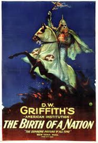 """Griffith's controversial """"Birth of a Nation"""" Premieres"""