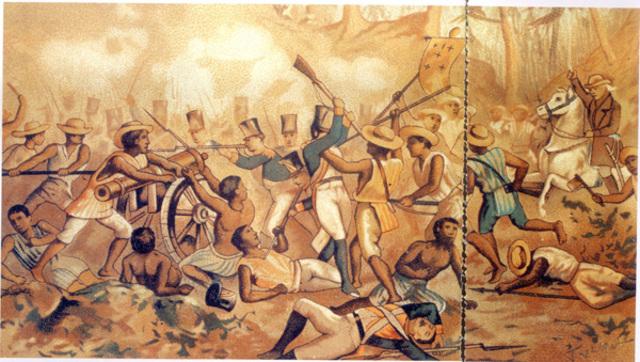 Batalla en Monte de las Cruces