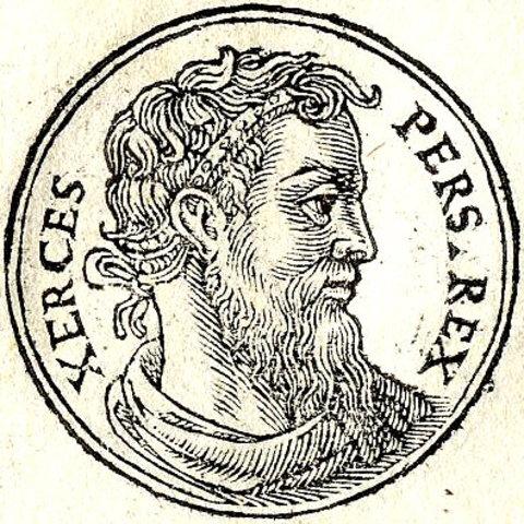 Xerxes takes Darius's place 485-465 BC
