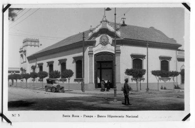 constitución del Banco Hipotecario