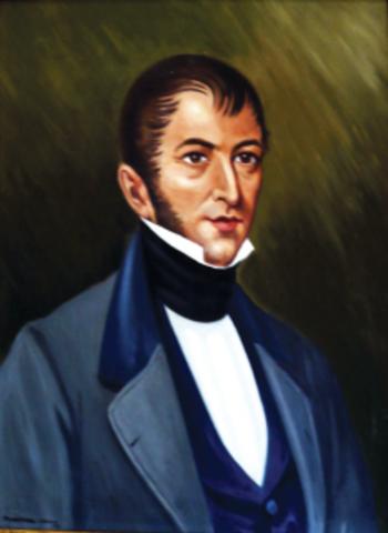 Nicolás Bravo prisionero