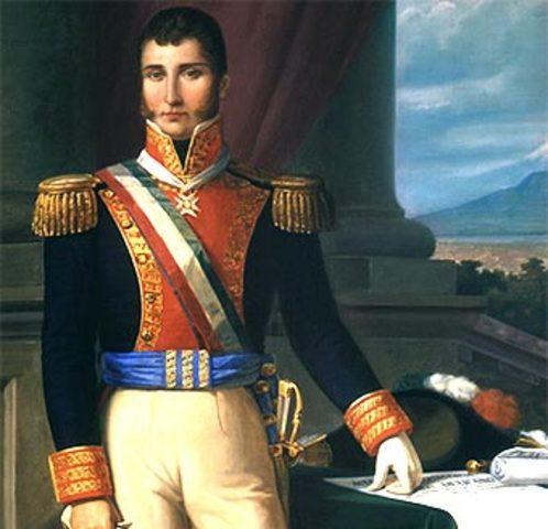Agustín de Iturbide en contra de Guerrero