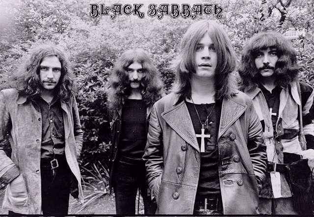 Aparece la banda Black Sabbath