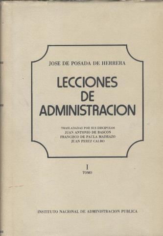 """Francisco de Paula Madrazo. """"Manual de administración""""."""