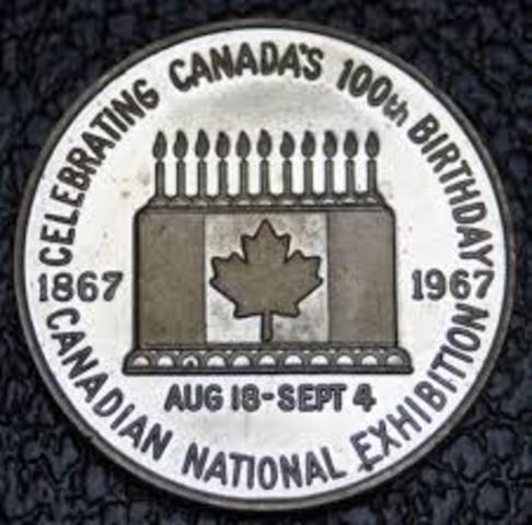 Canada's 100th Birthday