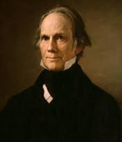 Henry Clay became the Speaker of the House