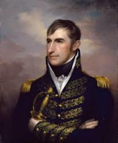 William Henry Harrison appointed governor of Indiana Territory