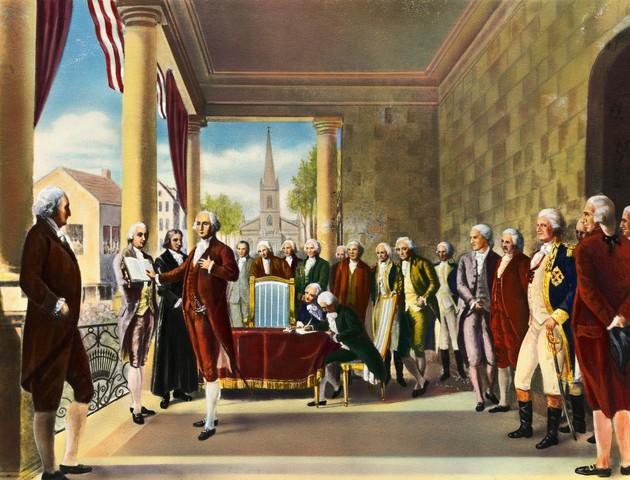 George Washington's Inauguration