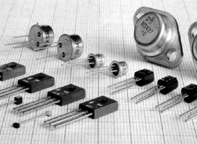 Uso de transistores