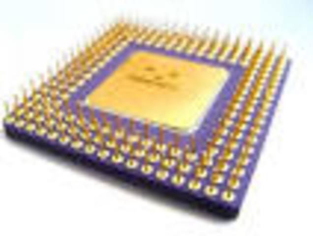 Chips de silicio y circuitos integrados, miles de transistores en un cm2