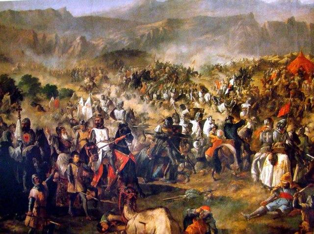 Victoria cristiana en la batalla de Las Navas de Tolosa