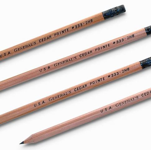 The Change to Incense-Cedar Pencils