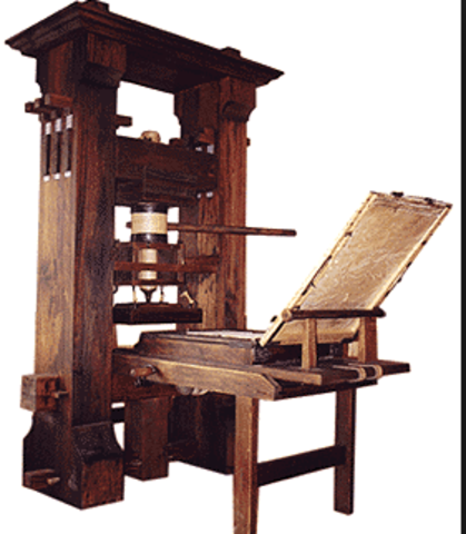 """En Masse"" Movable Printing Press"