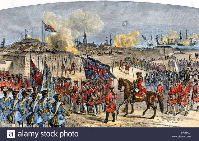 End of the French Regime and start of the British Regime (1756-1760)