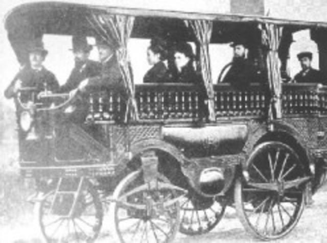 Carro de vapor de 20 pasajeros