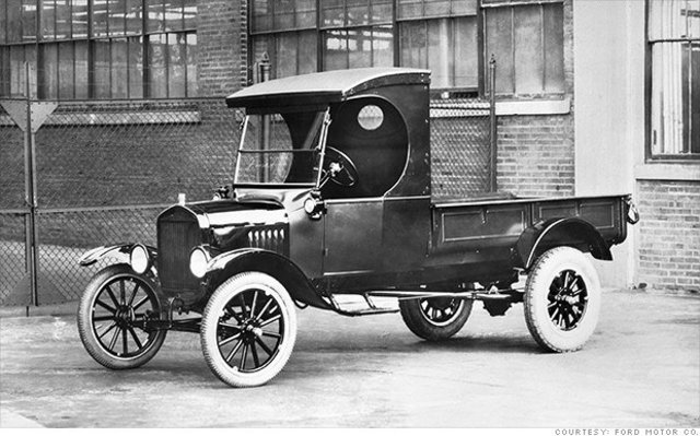 Ford Model T Runabout with Pickup Body
