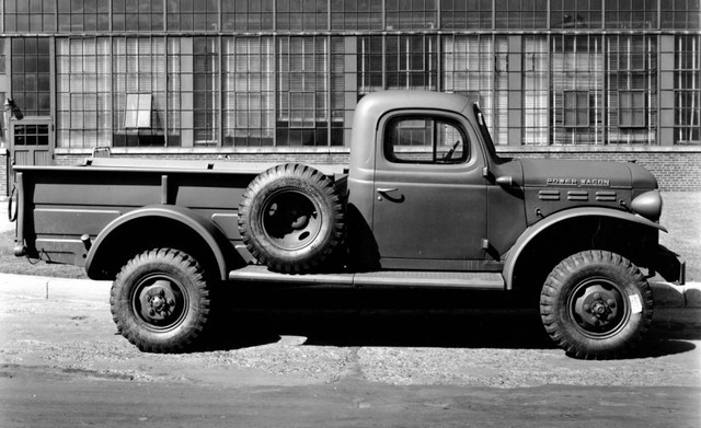 The Advent of Four-Wheel Drive pickup