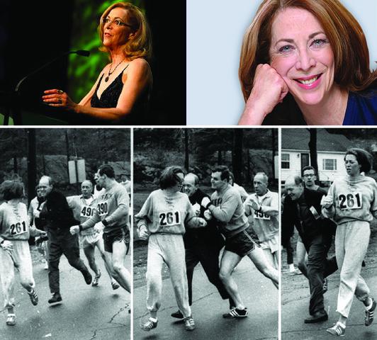 First Registered Female to run Boston Marathon, Kathrine Switzer