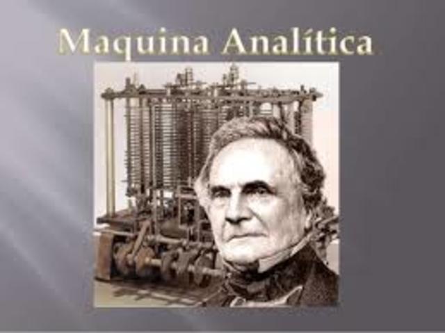 1834: Primera computadora digital programable